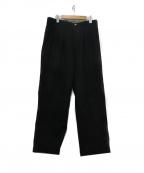 CURLY(カーリー)の古着「2タックパンツ」 ブラック