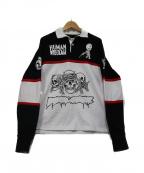 Fucking Awesome(ファッキンオーサム)の古着「ラガーシャツ」|ブラック