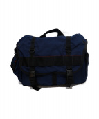 BRIEFING(ブリーフィング)の古着「メッセンジャーバッグ」 ブルー