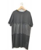 H&M(エイチ&エム)の古着「カットソーワンピース」|ブラック