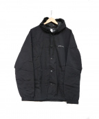 LONELY/論理(ロンリー)の古着「フーデッドジャケット」|ブラック