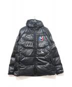 MILLET × WHITE MOUNTAINEERING(ミレー × ホワイトマウンテニアリング)の古着「ダウンジャケット」|ブラック