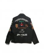 CALEE(キャリー)の古着「スーベニアジャケット」|ブラック