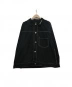 LONELY/論理(ロンリー)の古着「ナイロンジャケット」|ブラック