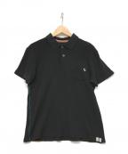 PAUL SMITH()の古着「ポロシャツ」 ブラック