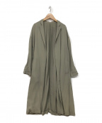 ROPE mademoiselle(ロペマドモアゼル)の古着「スプリングコート」 カーキ