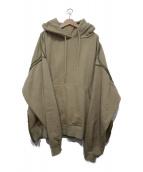 YOKE(ヨーク)の古着「プルオーバーパーカー」|ベージュ