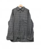 stein(シュタイン)の古着「Oversized Down Pad Shirt」|グレー