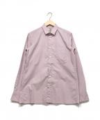 FACTOTUM(ファクトタム)の古着「タイプライターシャツ」|ピンク