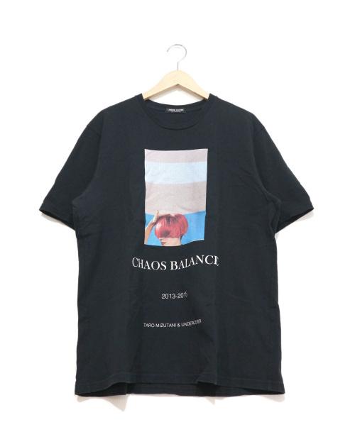 UNDERCOVER(アンダーカバー)UNDERCOVER (アンダーカバー) プリントTシャツ ブラック サイズ:4 chaos balance 17SSの古着・服飾アイテム