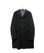 PRADA(プラダ)の古着「チェスターコート」|ブラック
