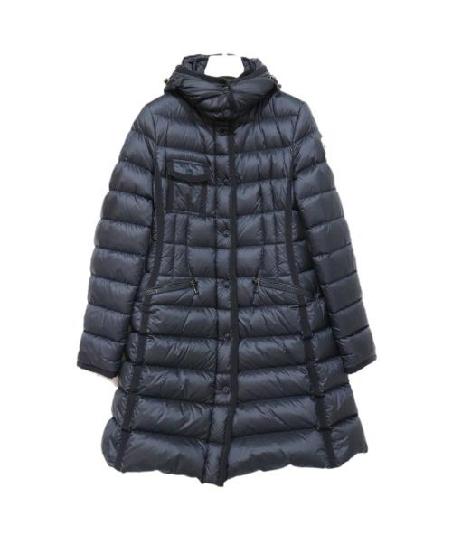 MONCLER(モンクレール)MONCLER (モンクレール) ダウンコート ネイビー サイズ:1の古着・服飾アイテム