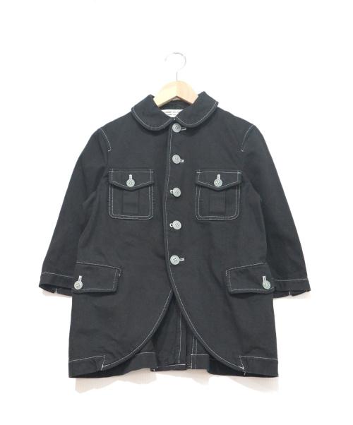 COMME des GARCONS COMME des GARCONS(コムデギャルソン コムデギャルソン)COMME des GARCONS COMME des GARCONS (コムデギャルソンコムデギャルソン) デニムジャケット ブラック サイズ:S ギャルソン コムコム AD2010の古着・服飾アイテム