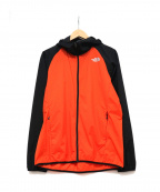 THE NORTH FACE()の古着「Swallowtail Vent Hoodie」|レッド