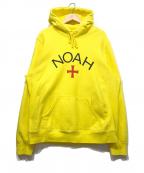 Noah(ノア)の古着「プルオーバーパーカー」 イエロー