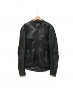 KADOYA(カドヤ)の古着「レザージャケット」 ブラック