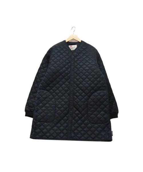 Traditional Weatherwear(トラディショナルウェザーウェア)Traditional Weatherwear (トラディショナルウェザーウェア) キルティングコート ネイビー サイズ:40の古着・服飾アイテム