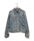 ALL SAINTS(オールセインツ)の古着「デニムジャケット」|ブルー