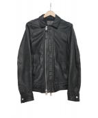 ALL SAINTS(オールセインツ)の古着「レザージャケット」|ブラック