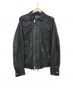 ALL SAINTS()の古着「レザージャケット」|ブラック