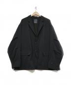 DAIWA PIER39(ダイワ ピアサーティンナイン)の古着「テーラードジャケット」 ブラック