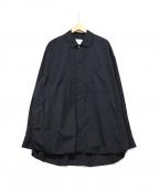 stein(シュタイン)の古着「Oversized Wind Shirt」|ネイビー