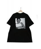 GOD SELECTION XXX(ゴットセレクショントリプルエックス)の古着「プリントTシャツ」 ブラック