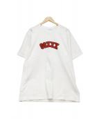 GOD SELECTION XXX(ゴットセレクショントリプルエックス)の古着「プリントTシャツ」 ホワイト
