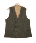 GABRIELE PASINI(ガブリアルパジーニ)の古着「ウールジレ」|ブラウン