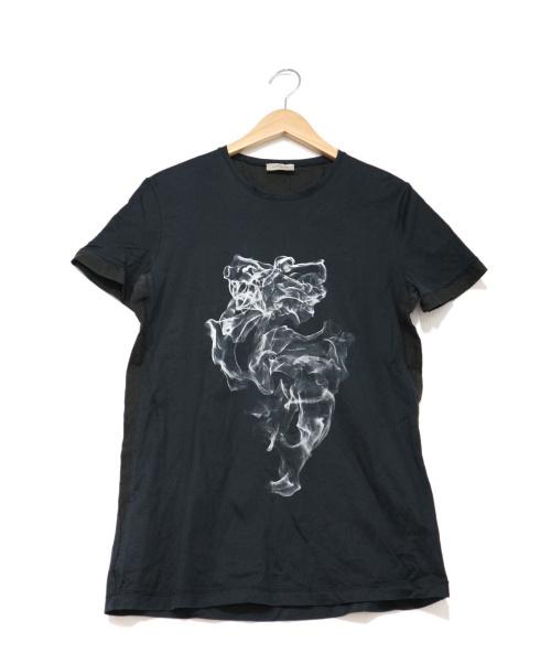 BALENCIAGA(バレンシアガ)BALENCIAGA (バレンシアガ) プリントTシャツ ブラック サイズ:XSの古着・服飾アイテム