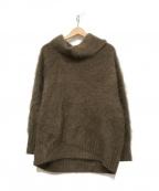 Plage()の古着「Fur ボリューム袖プルオーバー」|ブラウン