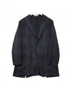 BOGLIOLI(ボリオリ)の古着「テーラードジャケット」 ブルー