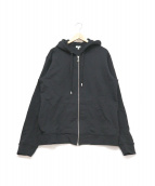 KENZO(ケンゾー)の古着「フードロゴパーカー」|ブラック