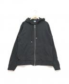 KENZO()の古着「フードロゴパーカー」|ブラック