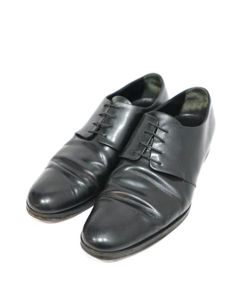 LOUIS VUITTON(ルイヴィトン)LOUIS VUITTON (ルイ ヴィトン) レザーシューズ ブラック サイズ:6 1/2の古着・服飾アイテム