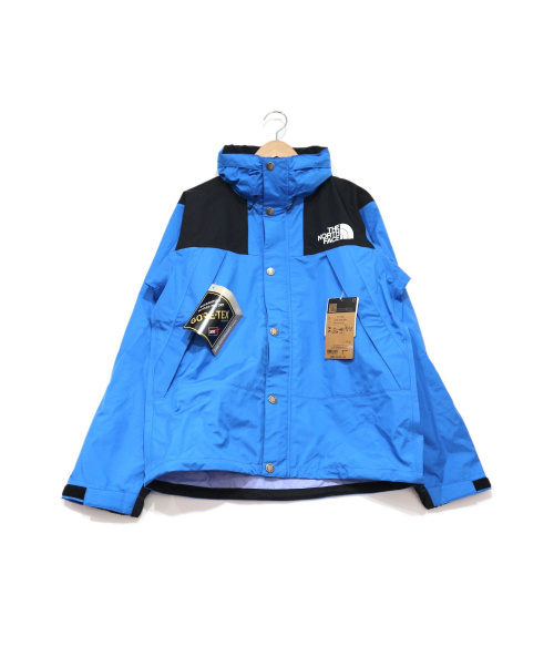 THE NORTH FACE(ザ ノース フェイス)THE NORTH FACE (ザ ノース フェイス) マウンテンレインテックスジャケット クリアレイクブルー サイズ:M 未使用品の古着・服飾アイテム