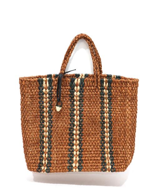 MARCHAR(マルシェ)MARCHAR (マルシェ) トートバッグ ブラウンの古着・服飾アイテム