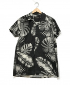 DEUS EX MACHINA(デウス エクス マキナ)の古着「オープンカラーシャツ」|ブラック