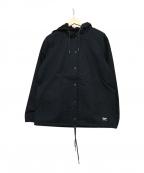 DEUS EX MACHINA(デウス エクス マキナ)の古着「フーデッドジャケット」|ブラック