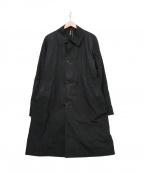 PAUL SMITH()の古着「ステンカラーコート」 ブラック