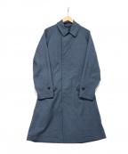B:MING LIFE STORE(ビーミングライフストア)の古着「比翼コート」 ブルー