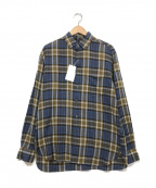 UNITED ARROWS TOKYO(ユナイテッドアローズトウキョウ)の古着「コットンリネンシャツ」|ブルー