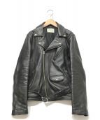 ()の古着「ライダースジャケット」|ブラック