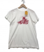 BUTCHER PRODUCTS(ブッチャープロダクツ)の古着「プリントTシャツ」|ホワイト