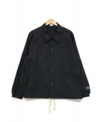 ()の古着「コーチジャケット」 ブラック