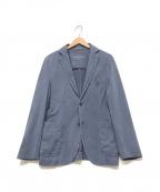 CIRCOLO 1901(チルコロ1901)の古着「ストレッチテーラードジャケット」 ブルー