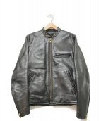 VANSON(バンソン)の古着「ライナー付ライダースジャケット」|ブラック