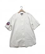 X-LARGE(エクストララージ)の古着「ベースボールシャツ」|ホワイト