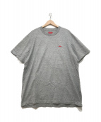 ()の古着「スモールボックスロゴTシャツ」|グレー