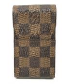 LOUIS VUITTON(ルイ ヴィトン)の古着「シガレットケース」|ブラウン